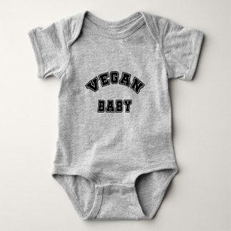 Body Para Bebé Bebé del vegano - estilo de la universidad