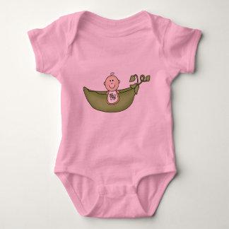 Body Para Bebé Bebé en vaina de guisante