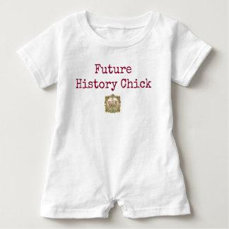 Body Para Bebé Bebé futuro del polluelo de la historia