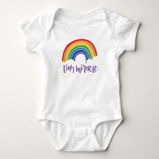 Body Para Bebé Bebé minúsculo del arco iris del milagro