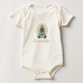 Body Para Bebé Bebé orgánico del Hippie hermoso