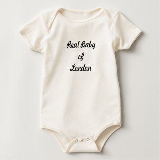 Body Para Bebé Bebé real de Londres: ¡Un gran regalo!