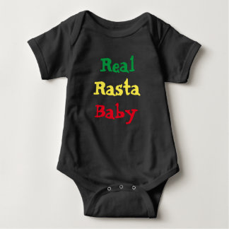 Body Para Bebé Bebé real de Rasta