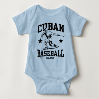 Body Para Bebé Béisbol cubano