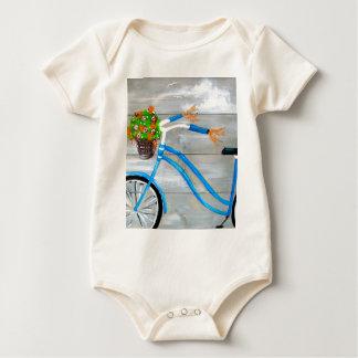 Body Para Bebé Bici azul Zazzle
