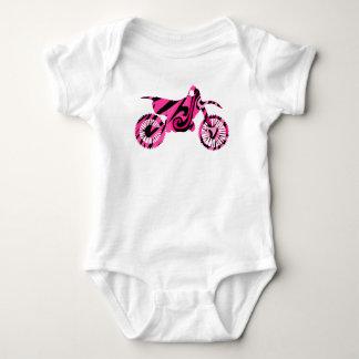 Body Para Bebé Bici rosada psicodélica de la suciedad de los