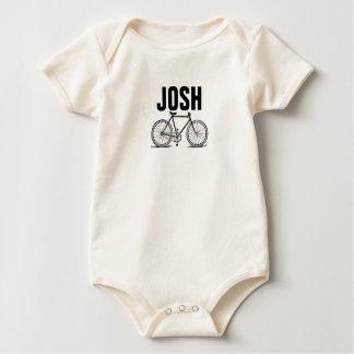 Body Para Bebé Bicicleta del vintage/del Victorian que graba