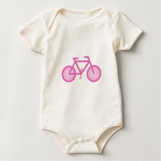 Body Para Bebé Bicicleta rosada