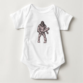 Body Para Bebé Bigfoot que celebra el tatuaje derecho del club