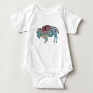 Body Para Bebé Bisonte/búfalo