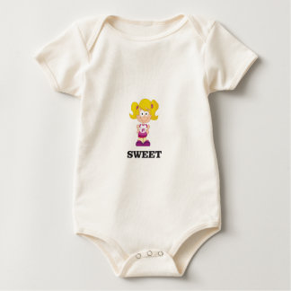 Body Para Bebé blondie dulce