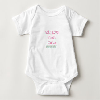 Body Para Bebé Bodysui del bebé de la abuela