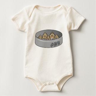 Body Para Bebé Bollo chino de Dim Sum de la bola de masa hervida