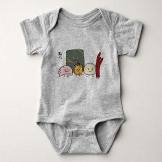 Body Para Bebé Bollo chino de los bollos de la bola de masa