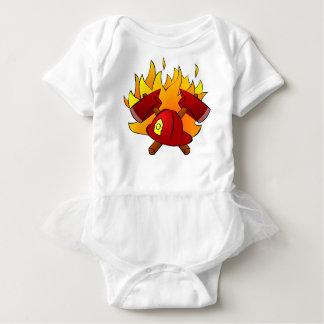 Body Para Bebé Bombero