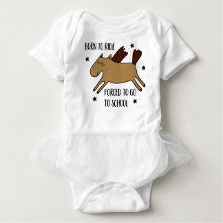 Body Para Bebé born to ride