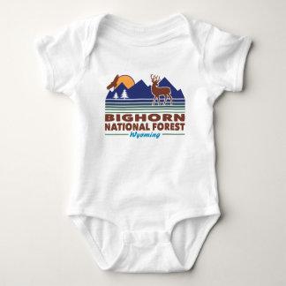 Body Para Bebé Bosque del Estado Wyoming del Bighorn