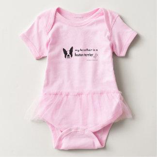 Body Para Bebé Boston Terrier-más razas