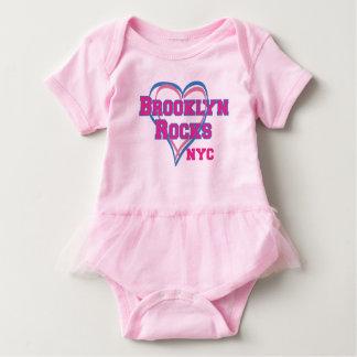 Body Para Bebé Brooklyn oscila el tutú del bebé