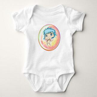 Body Para Bebé Bubble Angel Pink Number 1