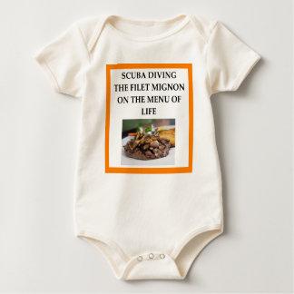 Body Para Bebé buceo con escafandra