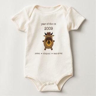 Body Para Bebé Buey 2