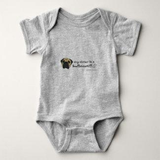 Body Para Bebé bullmastiff