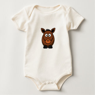 Body Para Bebé burro solitario