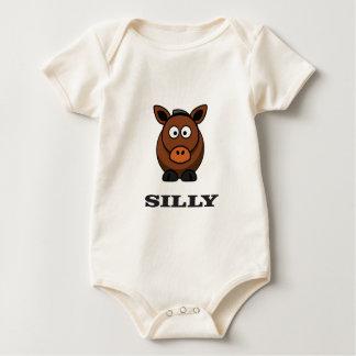 Body Para Bebé burro tonto