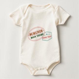 Body Para Bebé Burundi allí hecho eso