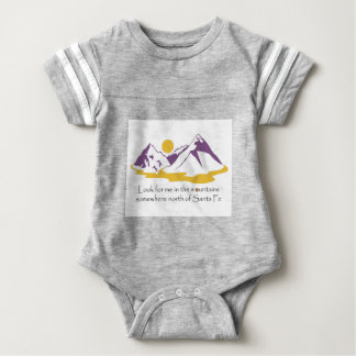 Body Para Bebé Busqúeme en las montañas