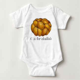 Body Para Bebé C es para el día de fiesta judío Jánuca del pan