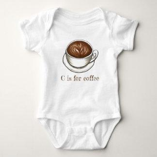 Body Para Bebé C está para el alfabeto de la letra C de Seattle