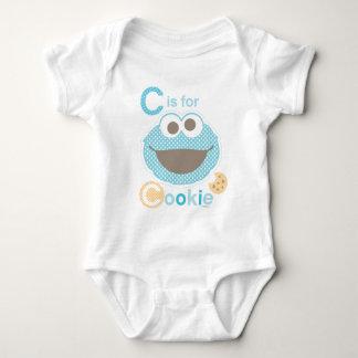 Body Para Bebé C está para el bebé de la galleta