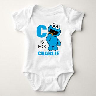 Body Para Bebé C está para el monstruo de la galleta que los  