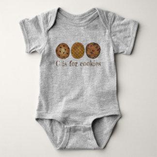 Body Para Bebé C está para la comida de la mantequilla de