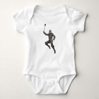 Body Para Bebé Caballero con macis que salta a la derecha