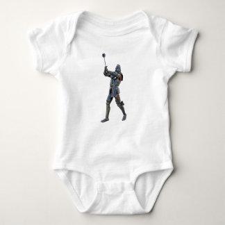 Body Para Bebé Caballero que camina a la derecha con macis