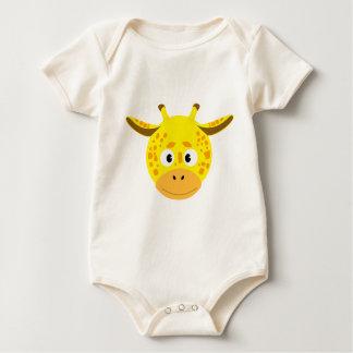Body Para Bebé Cabeza de Jirafa