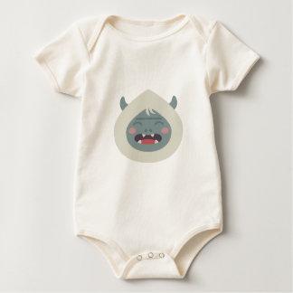 Body Para Bebé Cabeza de Yeti