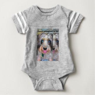 Body Para Bebé cacahuete el perro del rescate