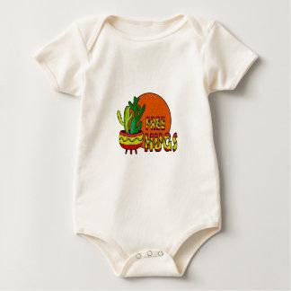 Body Para Bebé Cactus - libere los abrazos