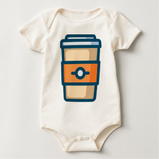 Body Para Bebé Café a ir