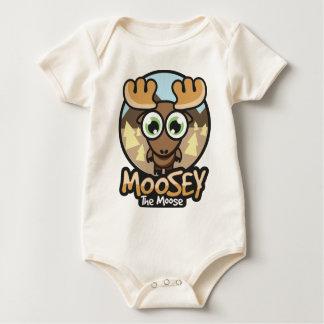Body Para Bebé caída del moosey