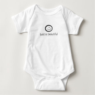 Body Para Bebé calvo es hermoso