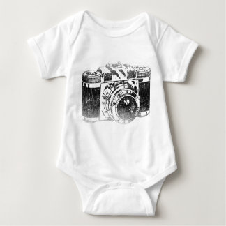 Body Para Bebé Cámara retra de los años 50