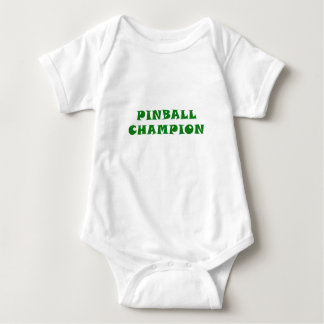 Body Para Bebé Campeón del pinball