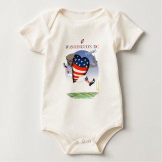 Body Para Bebé Campeones del fútbol del Washington DC, fernandes
