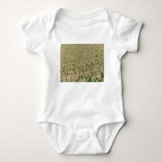 Body Para Bebé Campo del maíz del maíz verde en primero tiempo