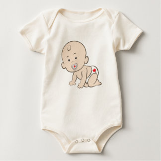 Body Para Bebé Canadiense de arrastre del bebé